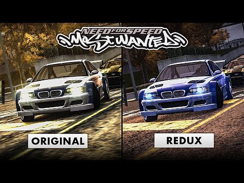 NFS Most Wanted REDUX 2019 | Ultimate Cars & Graphics Mod in