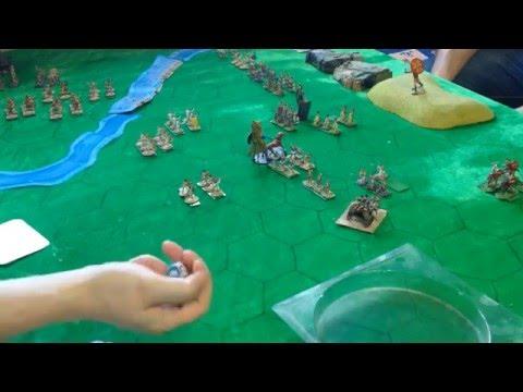 Баттлрепорт №2 Рим против Карфагена (настольный варгейм Command & colors)(Wargame Battlereport)