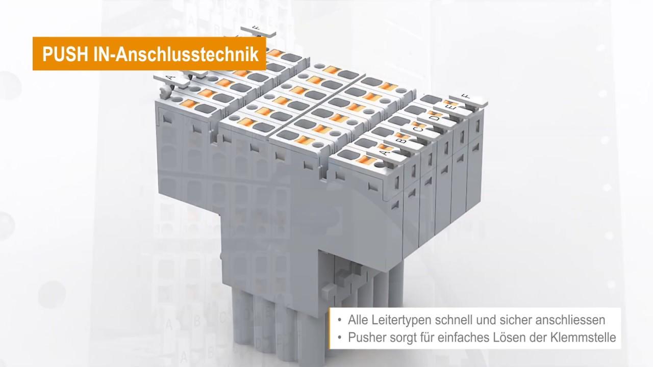 Modulare und steckbare Anschlusslösungen für Schubladensysteme