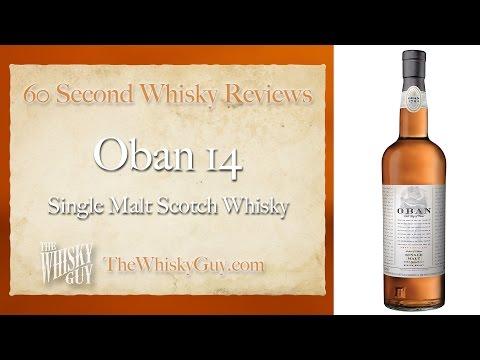 Oban 14 Single Malt Scotch Whisky – 60 Second Whisky Reviews #029