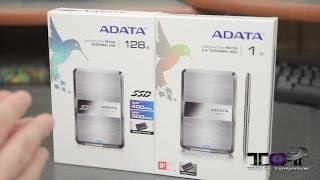 ADATA DashDrive Elite SE720 & HE720 External SSD/HDD Unboxing & Overview