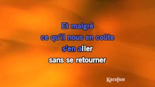 Karaoké Il faut savoir - Charles Aznavour *