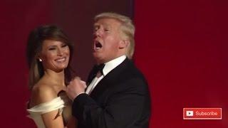 Donald Trump Dancing With Melania Trump at Inaugural Ball Liberty in Washington WONDERFUL SIGHT!