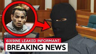 FBI Leaked 6ix9ine SECRETLY Snitching SINCE DAY 1...