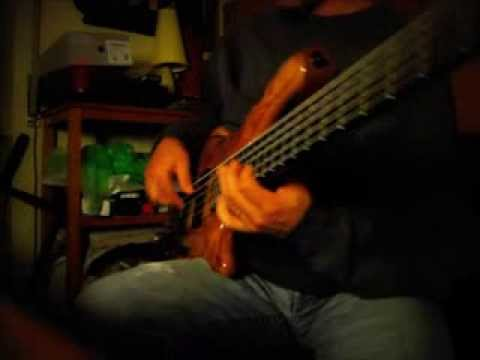 """""""Blue in Green"""" bass solo (Mayones Elegance)"""