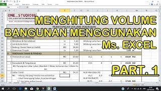 excelfuzziblog: Rab Rumah Type 36 Excel 2018