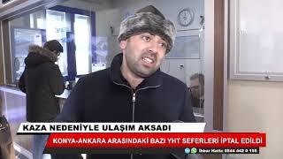 Konya-Ankara arasındaki bazı YHT seferleri iptal edildi