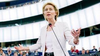 Ursula von der Leyen's bid for Parliamentary support