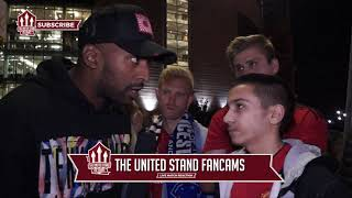 We Will Be Lucky If We Finish Top 3 | Fan Cam | Man Utd 2 - Leicester 1|