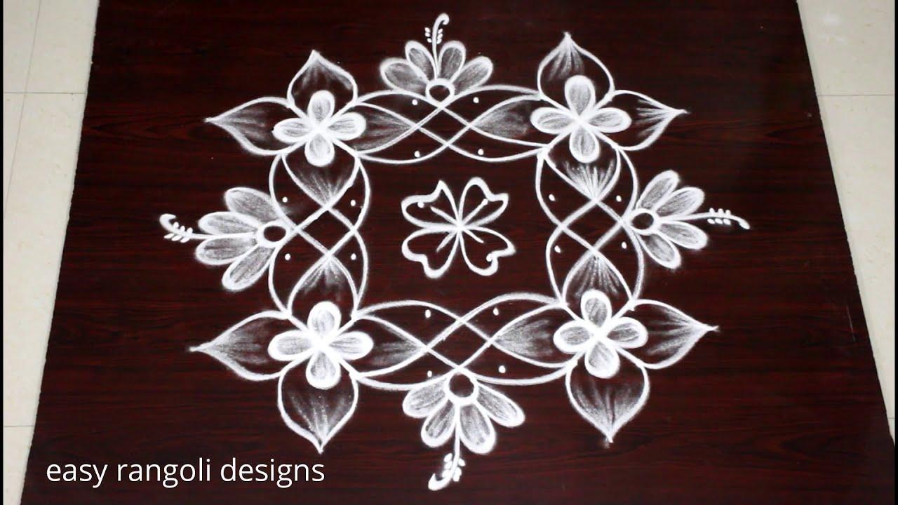 muggulu kolam design ideas 6 dot rangolis by easy rangoli design