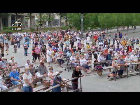 Chapelet du 23 juillet 2020 à Lourdes