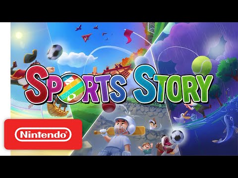 Sports Story - Announcement Trailer - Nintendo Switch