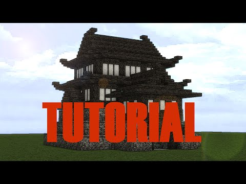 Japanese Castle Small Tutorial Minecraft Project