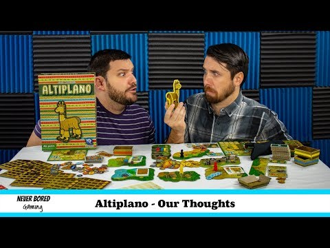 Never Bored Gaming - Our Thoughts (Altiplano)