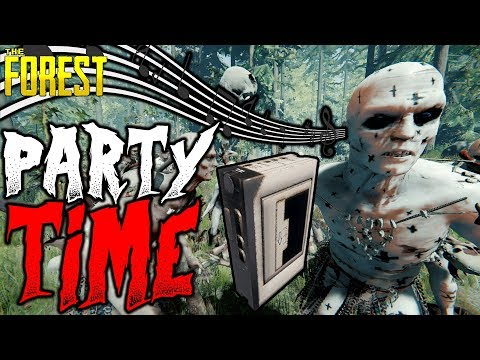 The Forest | PARTY TIME | 1 Life Challenge 13 | HARD SURVIVAL