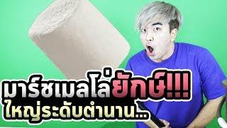 เกาหลีบ้าทำมาร์ชเมลโล่ยักษ์!!! ปิ้งกินได้ทั้งหมู่บ้าน...