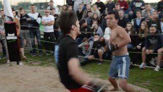 Боксер против Умеда, Крутой Бой !!!!