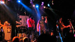 """Faster Pussycat Live at Southport Music Hall """"Nonstop to Nowhere"""" July 2012"""