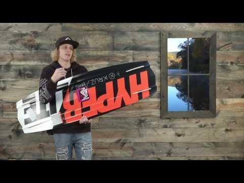 2017 Hyperlite Kruz Bio Wakeboard – Review – The-House.com
