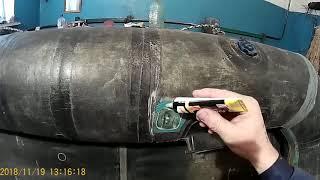 Ремонт резиновых лодок брянск