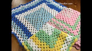 EASY BEGINNERS Granny Square Baby Blanket, With Bonnie Barker
