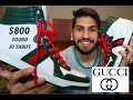 $800 GUCCI SHOES FOUND AT THE THRIFT STORE!! Puma X Coogi, Louis Vuitton!!!