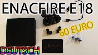 ENACFIRE E18 Wireless Headphones Bluetooth 5.0 - Unboxing [Deutsch]