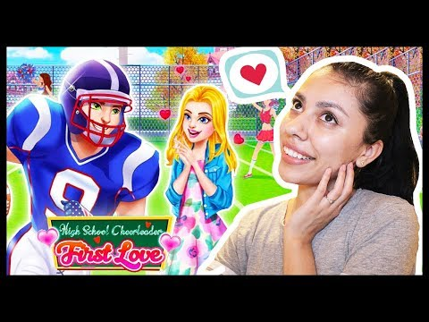 MY FIRST LOVE - High School Cheerleader Love Story - App Game