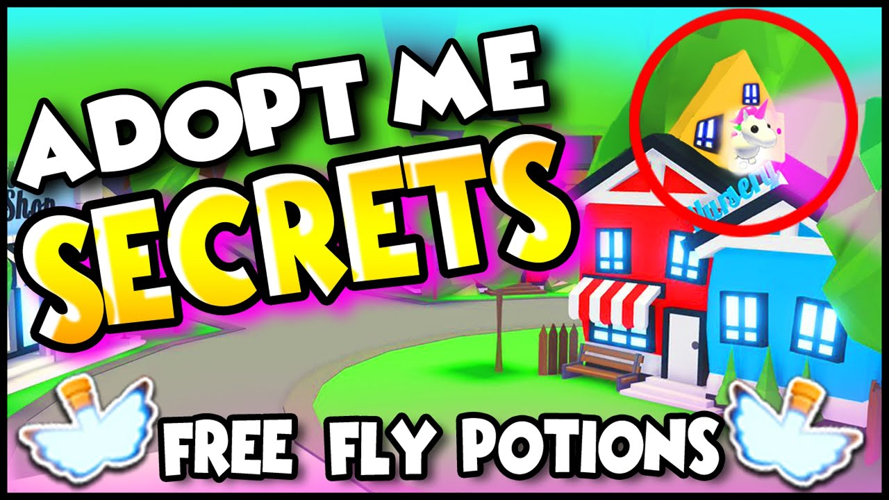 How To Get A Free Fly Potion In Adopt Me Roblox Without Robux 100 Free And Working Cute766