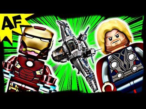 Vidéo LEGO Marvel Super Heroes 6869 : Le combat aérien en Quinjet