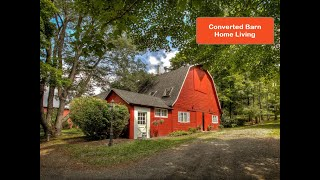 Converted Barn Home Living