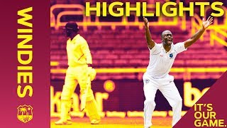 Roach Leads Fightback But India In Charge | Windies vs India 2nd Test Day 3 2019 - Highlights