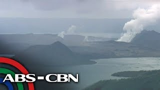WATCH: Live shot of the Taal Volcano (24 January 2020)