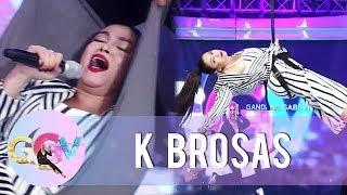 K Brosas accepts Vice Ganda's Kalerki-oke Challenge   GGV