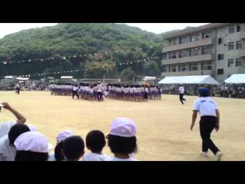 岡山市中山小学校運動会平成24年