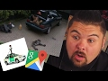10 Creepy things found in Google Maps Reaction
