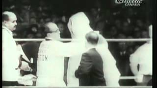 Floyd Patterson vs Sonny Liston, I (short)