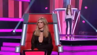 Невероятный голос у девушки судьи в шоке
