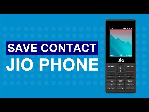 How to save contacts?