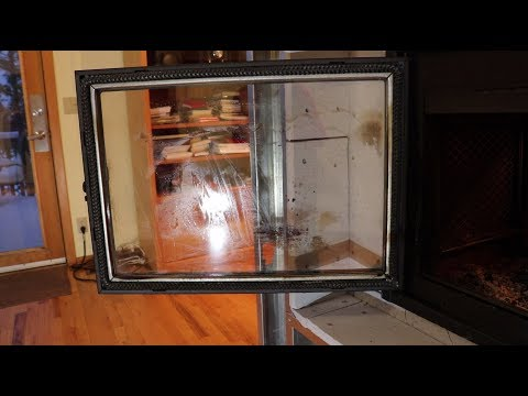 Supreme Duet See-Thru Fireplace - Glass Cleaning