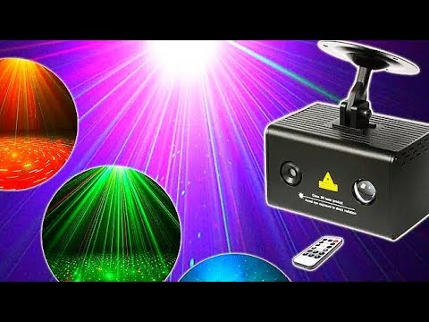 R & G лазерный проектор с дистанционным управлением / R&G Remote Control Laser Projector
