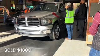 This Is How Much All Used DODGE Model Trucks Sell For At Auction! Cheap Dodge Auction Deals!