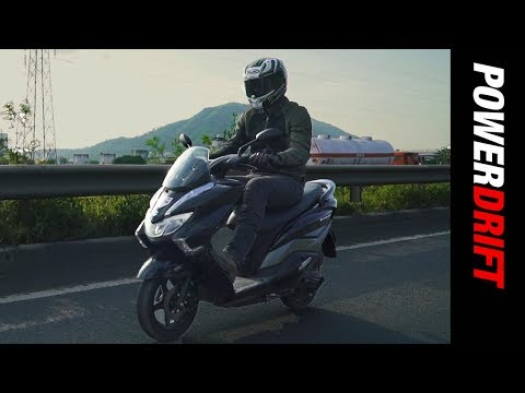 Suzuki Burgman Street : Is this the best 125cc Scooter? : PowerDrift