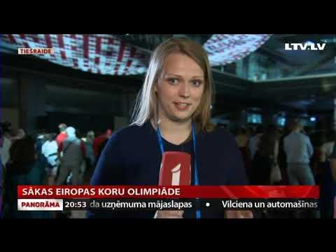 VIDEO: Sākas Eiropas koru olimpiāde