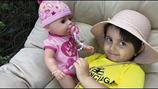 Ася покупает коляску для куклы! Беби Бон кукла Мая #асяшоу #babyborn #asyashow #асяшоукидс #игрушки
