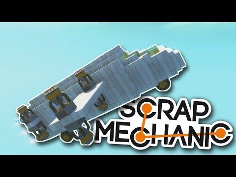 SNAŽÍME SE VYLETĚT DO VESMÍRU! - Scrap Mechanic! #4 w/Porty
