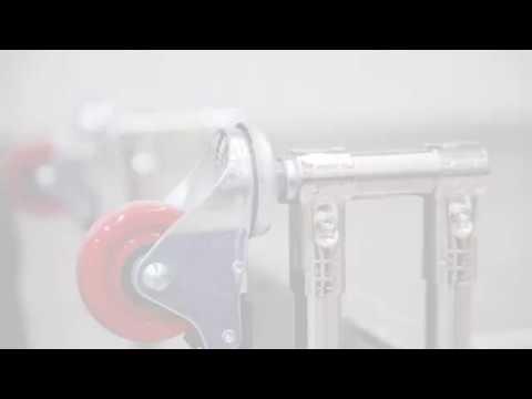 Instalación de rueda con vástago o tornillo
