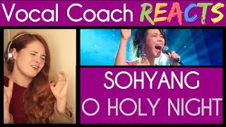 Vocal Coach Reacts to So Hyang singing O Holy Night