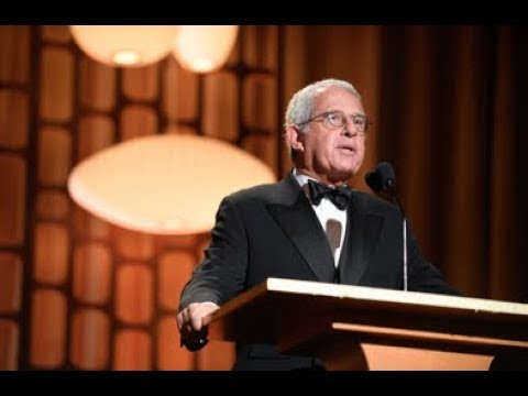 Ron Meyer honors Donald Sutherland at the 2017 Governors Awards