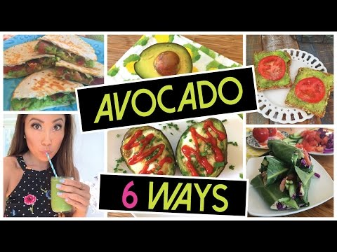 6 Mouth-Watering Recipes You Can Make Using Avocados
